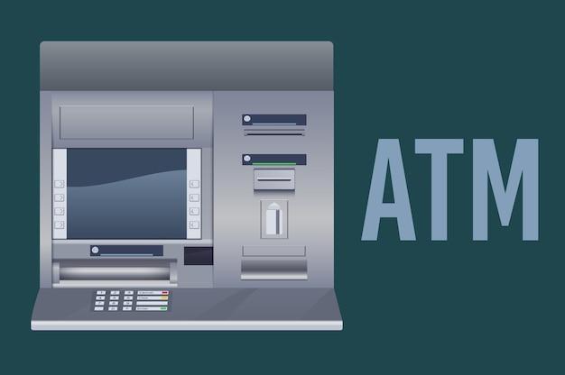 Geldautomat bankautomat