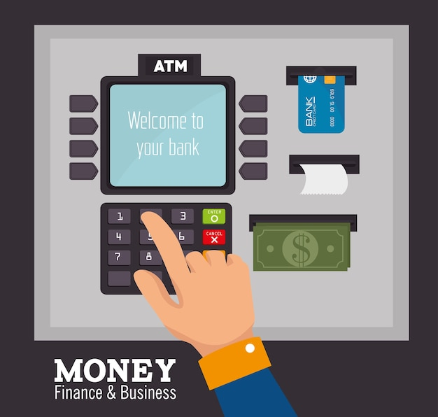 Gelddesign, vektorillustration.