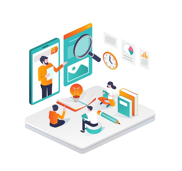 Gemeinsam mit einem virtuellen lehrer online lernen