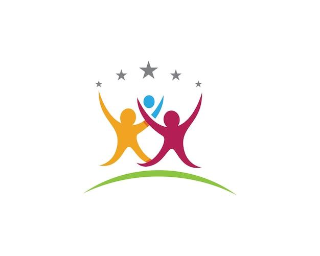Gemeinschaftspflege logo vorlage
