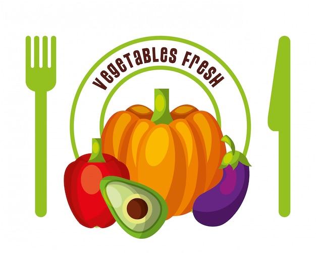 Gemüse frische lebensmittel