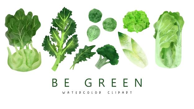 Gemüse handgezeichnet
