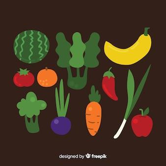 Gemüse und früchte