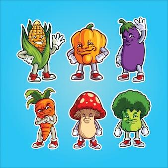 Gemüsegarnitur