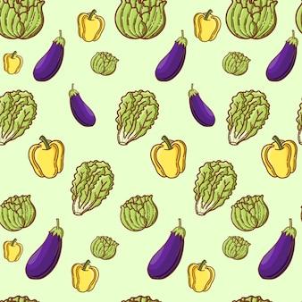 Gemüsemuster