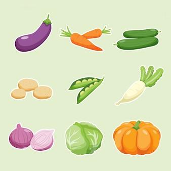 Gemüsesammlung