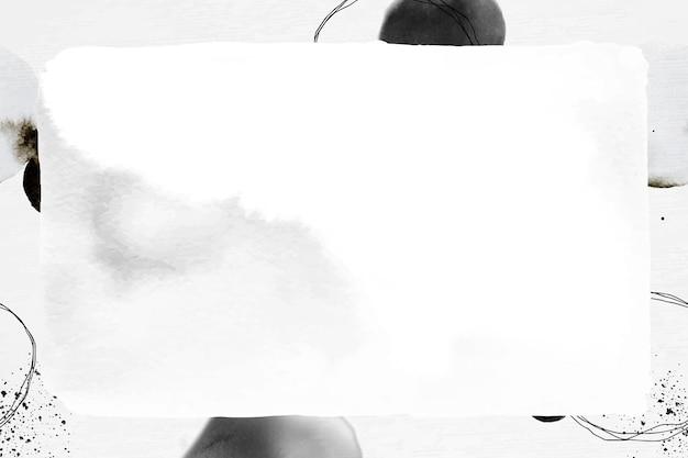 Gemusterter hintergrund des abstrakten rahmenvektortintenpinsels
