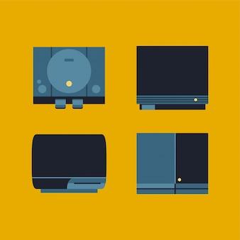 Generationen von konsolen