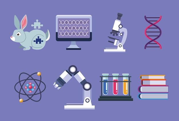 Genetische testelemente