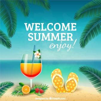Genießen sie den sommer