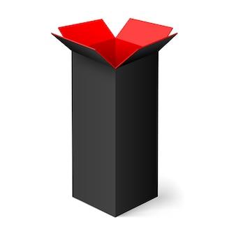 Geöffnete box