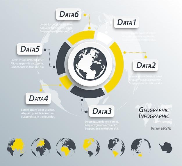 Geografische infografiken