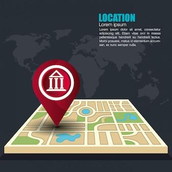 Geografisches ortungssystem