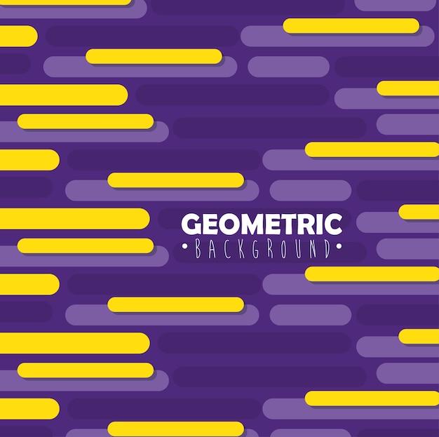 Geometrie linien und farben hintergrund