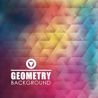 Geometrietapete oder -hintergrund, vektorillustration eps10
