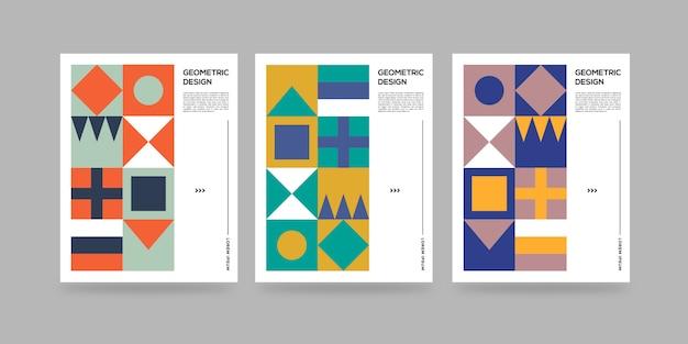 Geometrische abstrakte abdeckungen