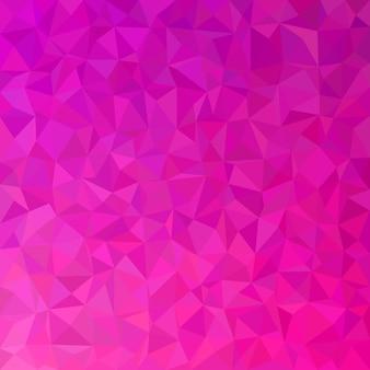 Geometrische abstrakte dreieck fliesen muster hintergrund - polygon vektor-grafik aus farbigen dreiecke