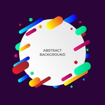 Geometrische abstrakte hintergrund