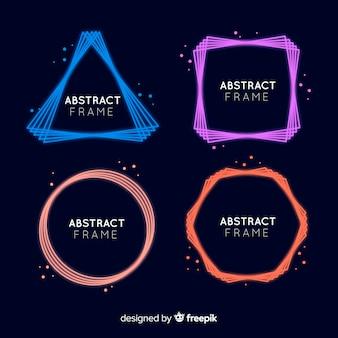 Geometrische abstrakte Rahmen