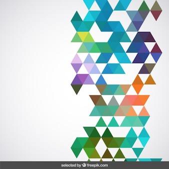 Geometrische bunten hintergrund