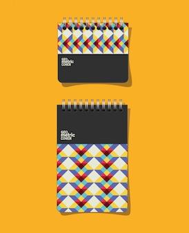 Geometrische deckblätter