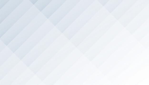 Geometrische diagonale formt weißen und grauen hintergrund