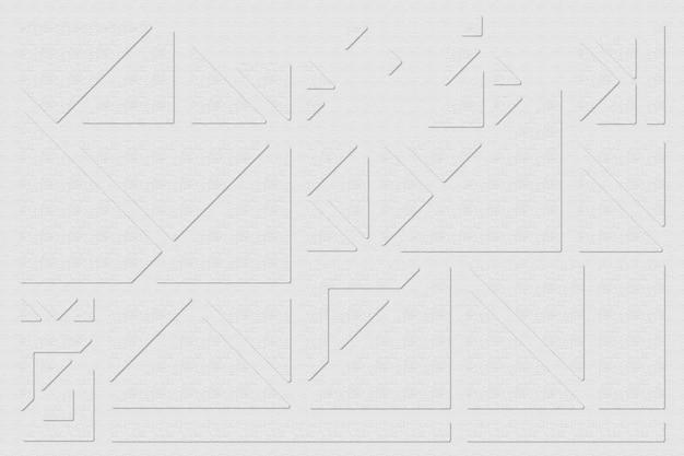 Geometrische dreiecke auf grauem hintergrund