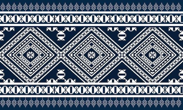 Geometrische ethnische musterstickerei .carpet,wallpaper,clothing,wrapping,batik,fabric,vektorillustrationsstickereiart.