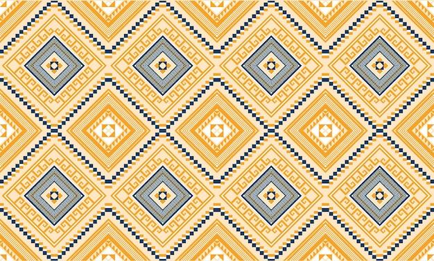 Geometrische ethnische orientalische ikat nahtlose muster.