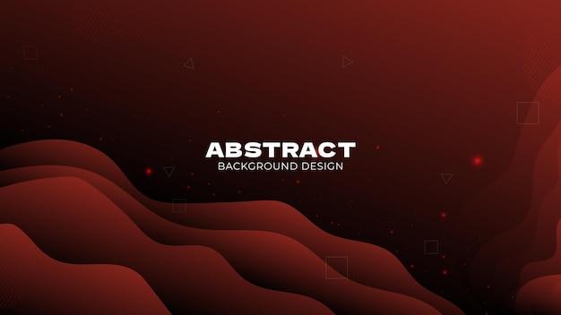Geometrische form des abstrakten hintergrunddesigns für fahnenhomepagevektor premium