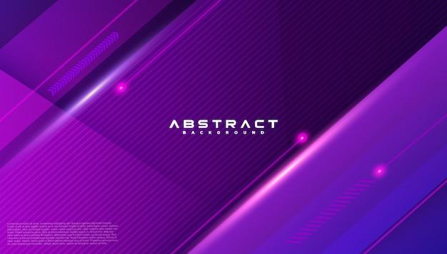 Geometrische form futuristische technologie bewegungslinie abstrakten hintergrund