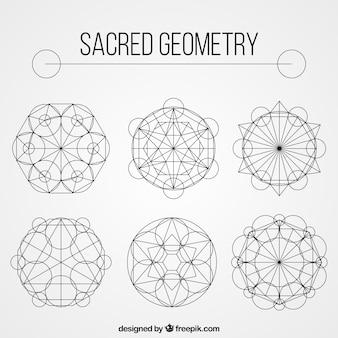 Geometrische form sammlung