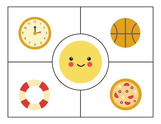 Geometrische formen für kinder