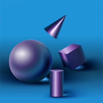 Geometrische formen und die formen