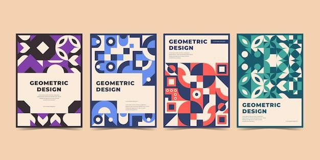 Geometrische geschäftsabdeckung