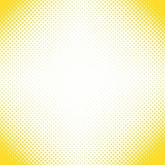 Geometrische halbton punkt muster hintergrund - vektor-design von kreisen in verschiedenen größen