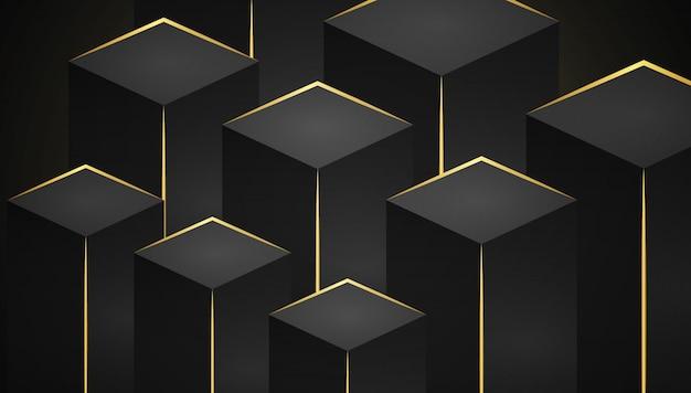 Geometrische hintergrundschablone der abstrakten steigung