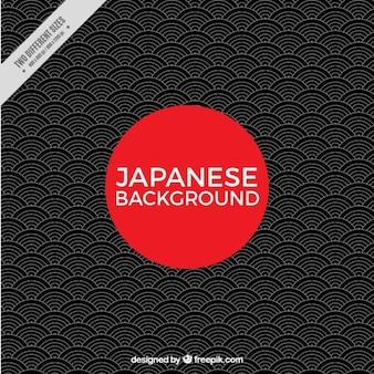 Geometrische japanischer hintergrund
