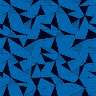 Geometrische linie nahtlose muster