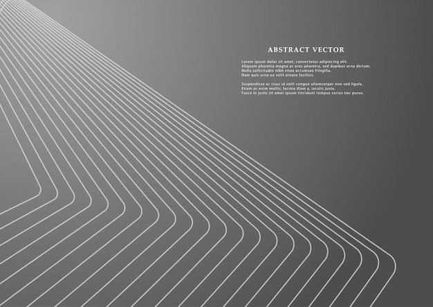 Geometrische linien für den hintergrund.