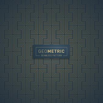 Geometrische linien nahtlose muster