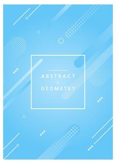 Geometrische muster für webdesign. illustration. broschüre dwsign