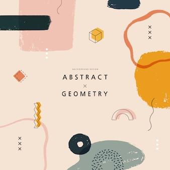 Geometrische muster für webdesign. illustration.