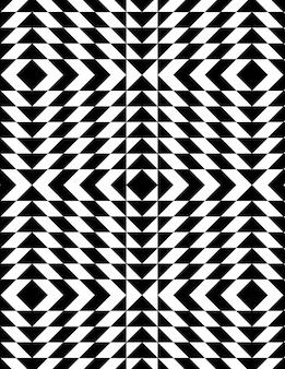 Geometrische muster im op-art-stil