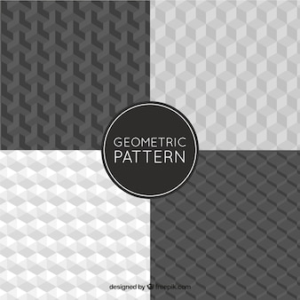 Geometrische muster mit formen