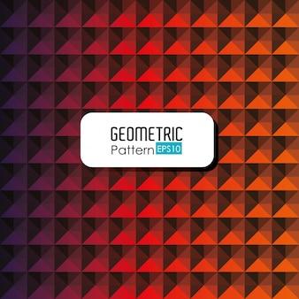 Geometrische musterillustration