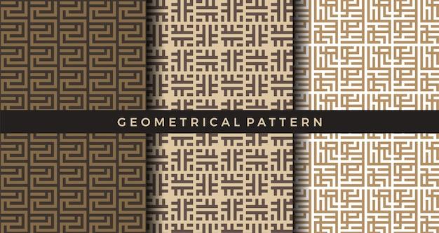 Geometrische mustersammlung