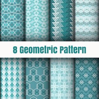Geometrische mustertapetenhintergrund-oberflächenbeschaffenheiten