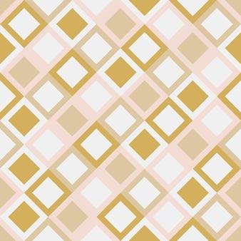 Geometrische quadratische mustervektorillustration
