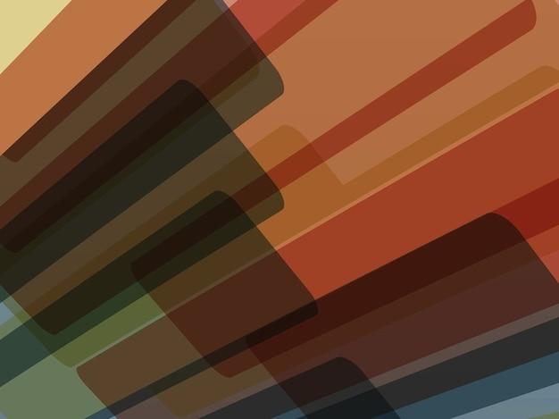 Geometrische rechtecke abstrakten hintergrund
